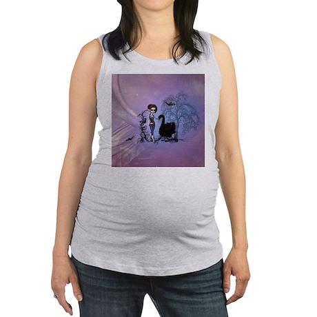 Bleeding Heart Maternity Dark T-Shirt