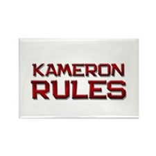 kameron rules Rectangle Magnet