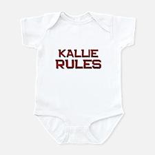 kallie rules Infant Bodysuit