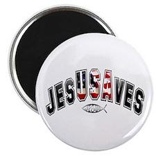 "USA Jesus 2.25"" Magnet (10 pack)"
