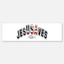 USA Jesus Bumper Bumper Bumper Sticker