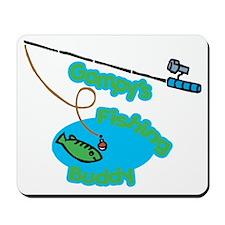 Gampy's Fishing Buddy Mousepad