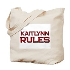 kaitlynn rules Tote Bag