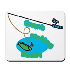 Gram's Fishing Buddy Mousepad