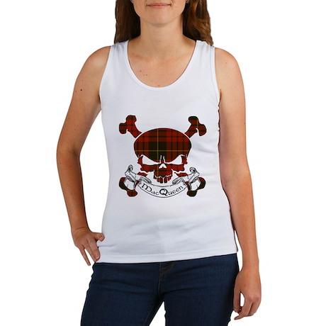 MacQueen Tartan Skull Women's Tank Top