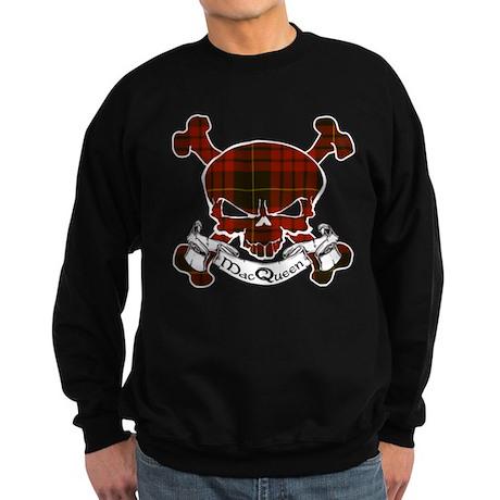 MacQueen Tartan Skull Sweatshirt (dark)