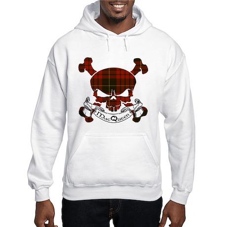 MacQueen Tartan Skull Hooded Sweatshirt