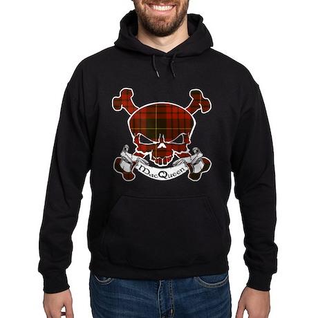 MacQueen Tartan Skull Hoodie (dark)