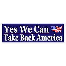 Take Back America - Bumper Bumper Sticker