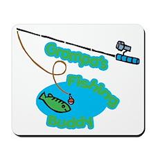 Grampa's Fishing Buddy Mousepad