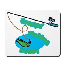 Gramps' Fishing Buddy Mousepad