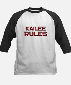 kailee rules Kids Baseball Jersey