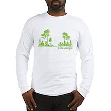 Twilight Shirt- Forks,Washington Tree Line Long Sl