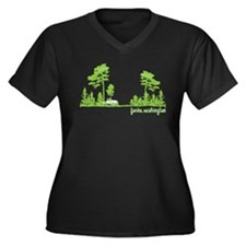 Twilight Shirt- Forks,Washington Tree Line Women's