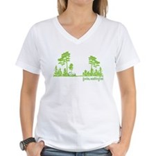 Twilight Shirt- Forks,Washington Tree Line Shirt