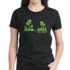 Twilight Shirt- Forks,Washington Tree Line Tee