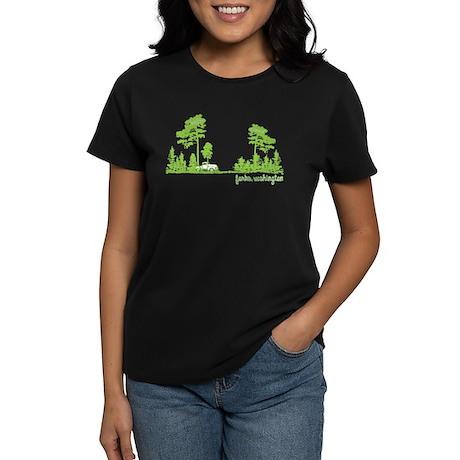 Twilight Shirt- Forks,Washington Tree Line Women's
