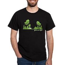 Twilight Shirt- Forks,Washington Tree Line T-Shirt