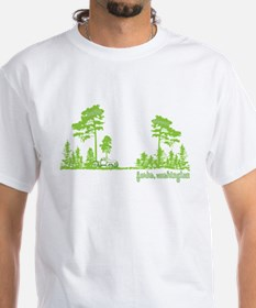 Twilight Shirt- Forks,Washington Tree Line Shirt
