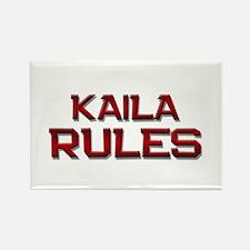 kaila rules Rectangle Magnet