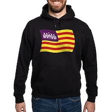 Balearic Islands Flag Hoodie