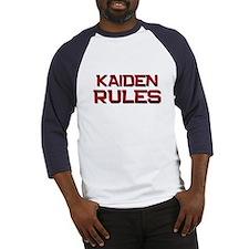 kaiden rules Baseball Jersey