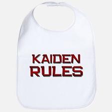 kaiden rules Bib
