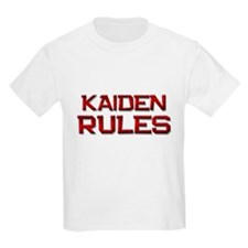 kaiden rules T-Shirt
