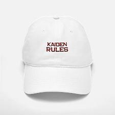 kaiden rules Baseball Baseball Cap