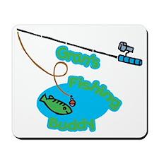 Gran's Fishing Buddy Mousepad