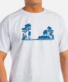 Twilight Shirt-La Push New Moon Tree Line T-Shirt
