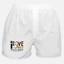 I Love My Autistic Nephew 2 Boxer Shorts
