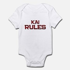 kai rules Infant Bodysuit