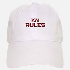 kai rules Baseball Baseball Cap