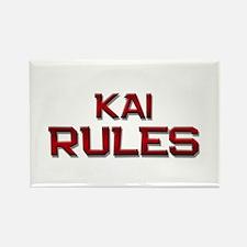 kai rules Rectangle Magnet