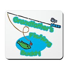 Grandfather's Fishing Buddy Mousepad