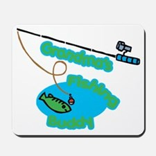Grandma's Fishing Buddy Mousepad