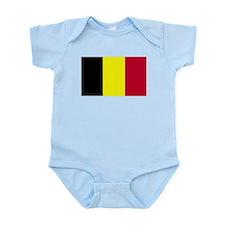 Belgium Flag Infant Creeper