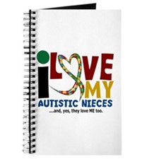 I Love My Autistic Nieces 2 Journal