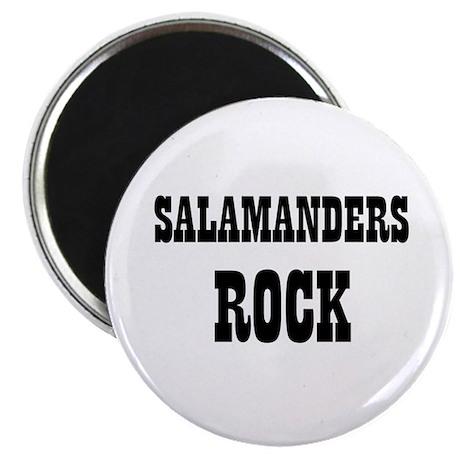 """SALAMANDERS ROCK 2.25"""" Magnet (10 pack)"""