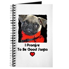 PROMISE TO BE GOOD SANTA Journal
