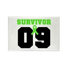 Lymphoma Survivor 9 Years Rectangle Magnet