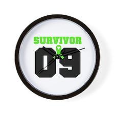 Lymphoma Survivor 9 Years Wall Clock