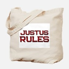 justus rules Tote Bag