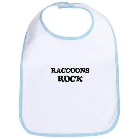 RACCOONS ROCK Bib