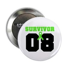 "Lymphoma Survivor 8 Years 2.25"" Button (10 pack)"