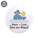 Peace Love Save The Whales 3.5