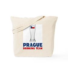 Prague Drinking Team Tote Bag