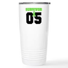 Lymphoma Survivor 5 Years Travel Mug