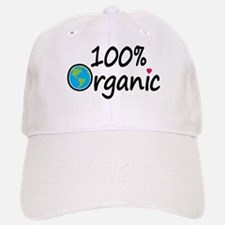 100% Organic Baseball Baseball Cap